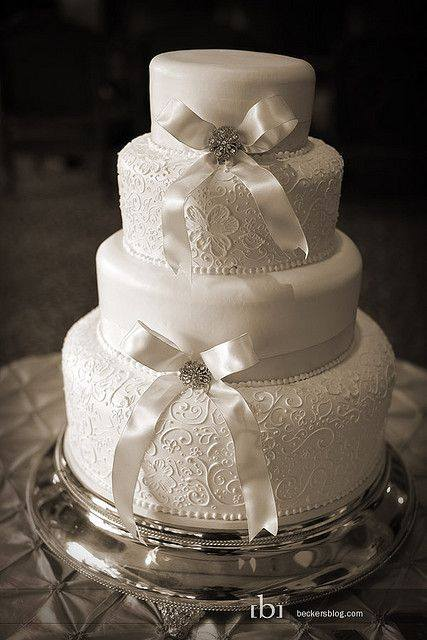 Lace Wedding Decorations & Details - Obrázok č. 98