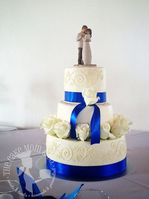 ♛ ♛ ♛ royal blue wedding inspiration - Obrázok č. 31