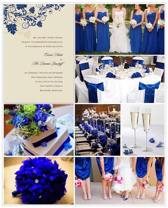 ♛ ♛ ♛ royal blue wedding inspiration - Obrázok č. 37