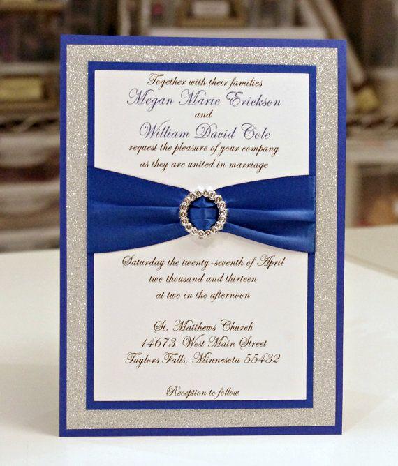 ♛ ♛ ♛ royal blue wedding inspiration - Obrázok č. 42