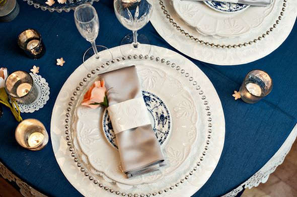 ♛ ♛ ♛ royal blue wedding inspiration - Obrázok č. 51