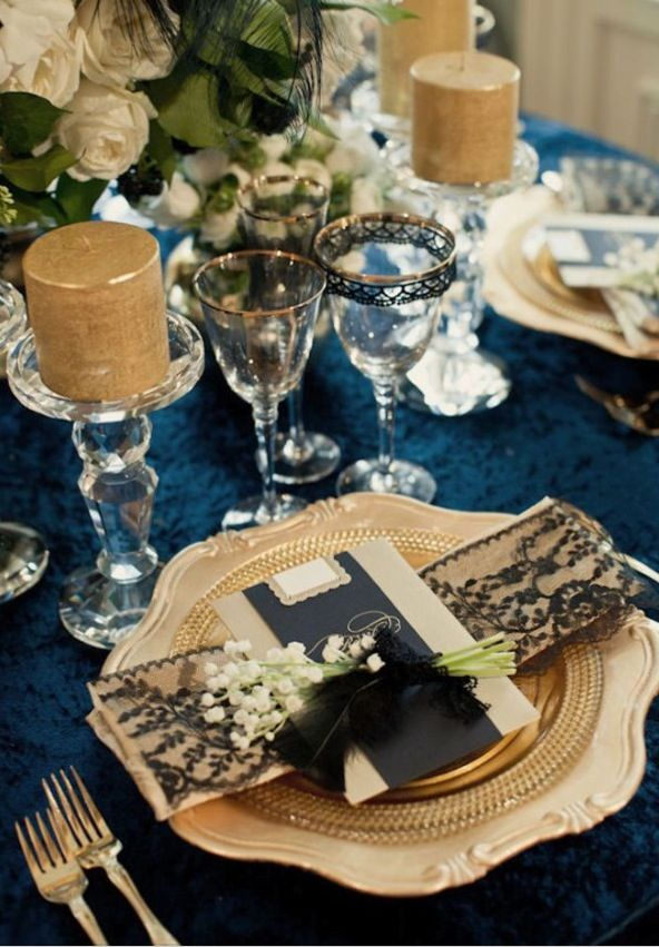 ♛ ♛ ♛ royal blue wedding inspiration - Obrázok č. 55