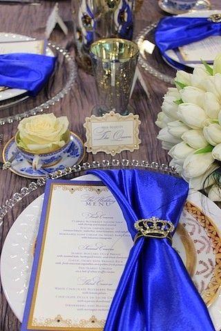 ♛ ♛ ♛ royal blue wedding inspiration - Obrázok č. 56