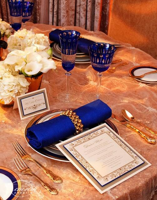 ♛ ♛ ♛ royal blue wedding inspiration - Obrázok č. 57