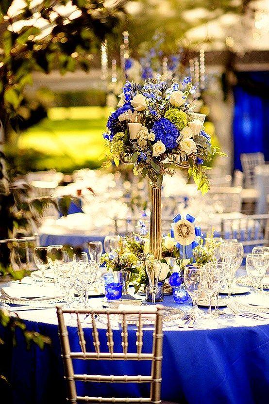 ♛ ♛ ♛ royal blue wedding inspiration - Obrázok č. 62