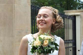 Nevěsta v plné kráse
