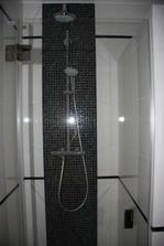 ..náš sprchový kút murovaný 90 x 90