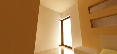 rohové okno v spálni
