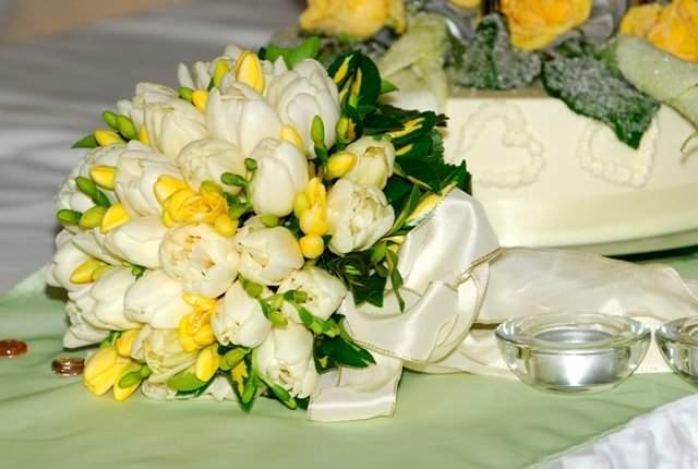 Svadobna kytica z tulipánov - Obrázok č. 3