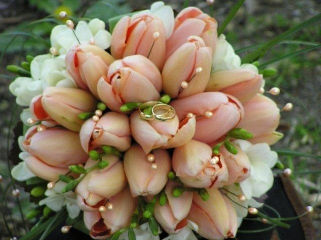 Svadobna kytica z tulipánov - Obrázok č. 11