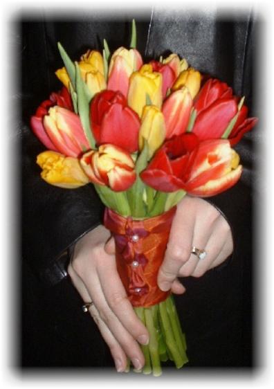 Svadobna kytica z tulipánov - Obrázok č. 19