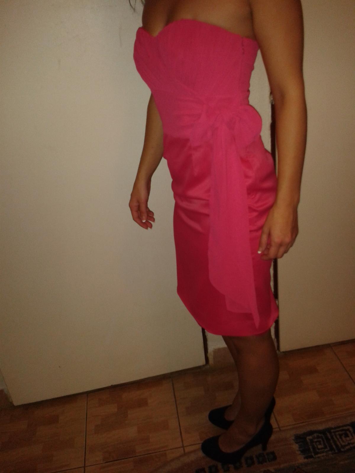 šaty ružové - Obrázok č. 3