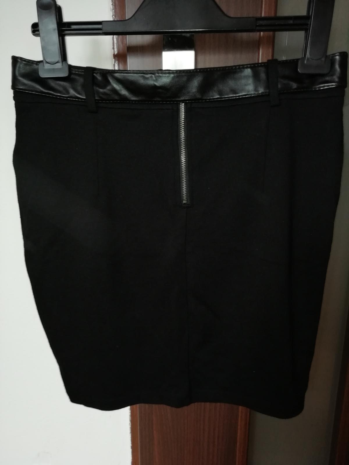 Čierna sukňa kenvelo - Obrázok č. 2