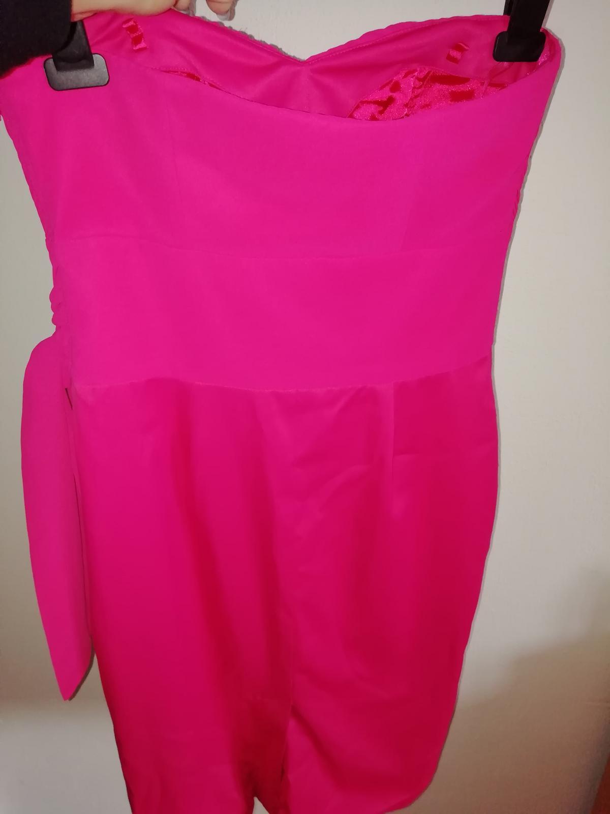 šaty ružové - Obrázok č. 1