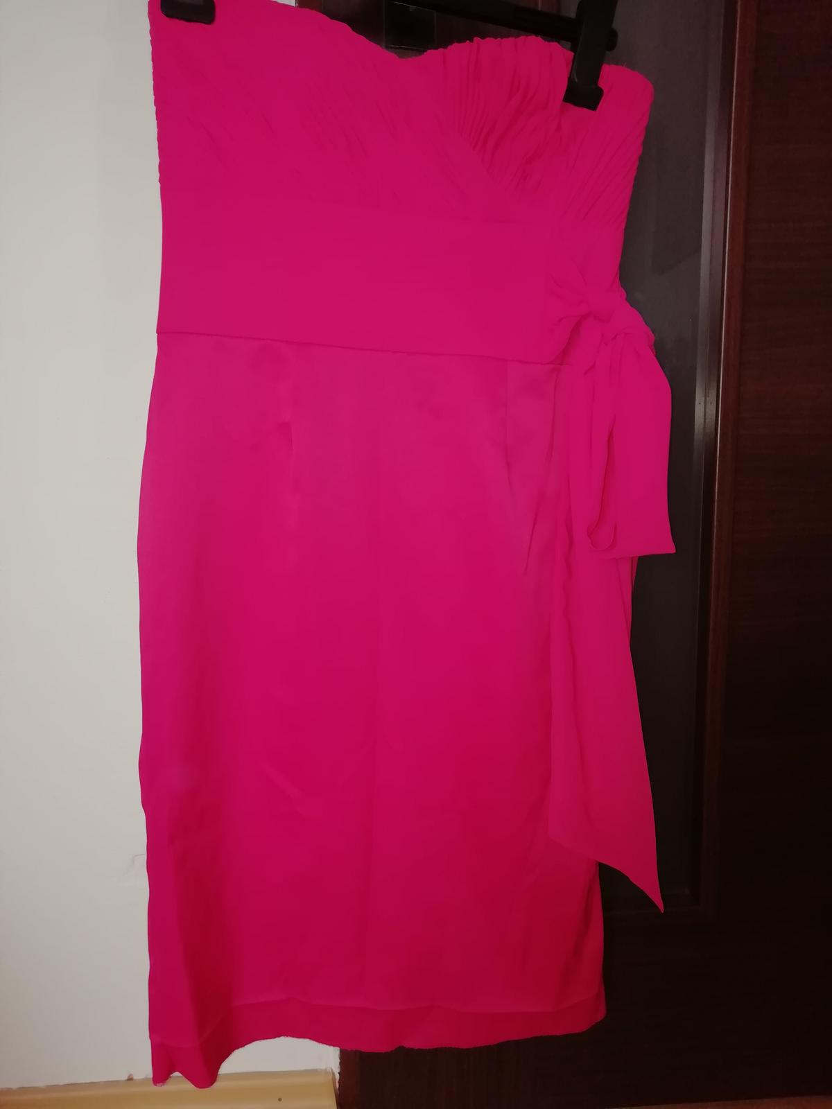šaty ružové - Obrázok č. 2