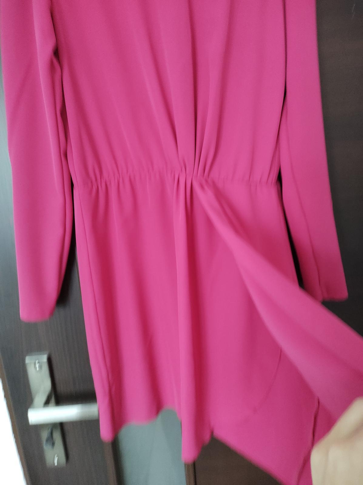 cyklamenove šaty - Obrázok č. 2