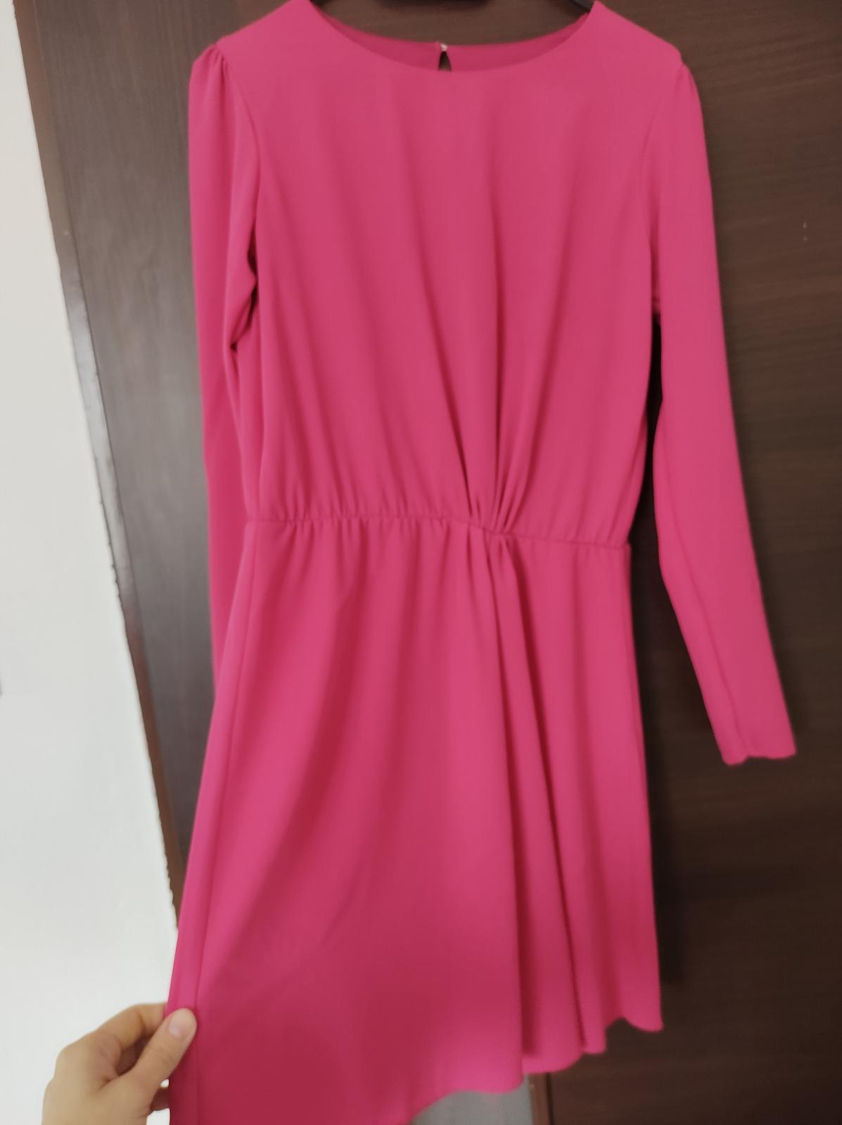 cyklamenove šaty - Obrázok č. 3