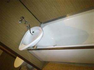 starý dobrý umakart... aneb průchoďácká koupelna