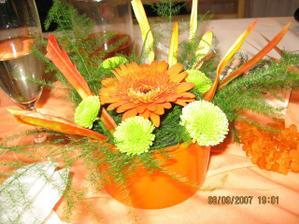 dekorace na stoly