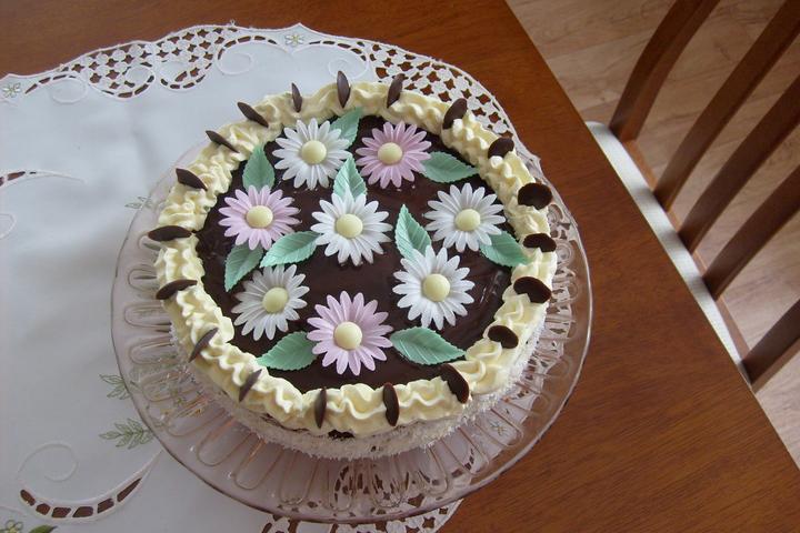 Hokus pokus v kuchyni - Krémový dort mamce k narozeninám