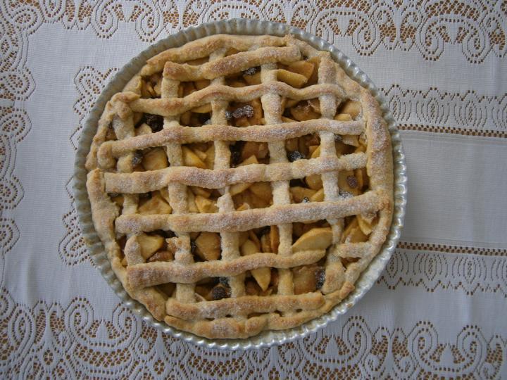 Hokus pokus v kuchyni - Linecký koláč s flambovanými jablky