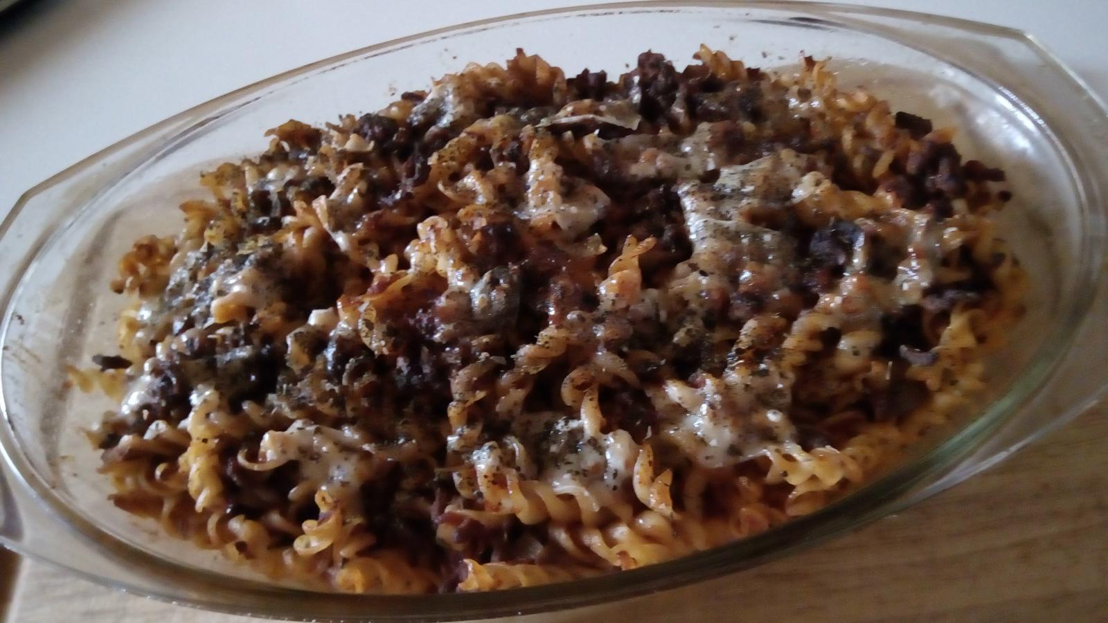 Hokus pokus v kuchyni - Zapečené těstoviny po italsku :-)