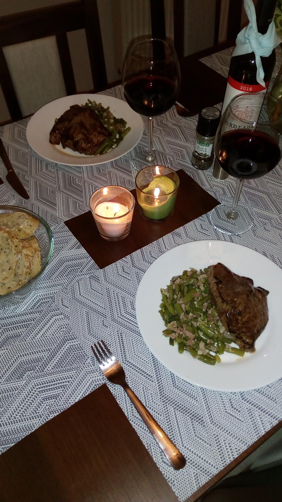 Hokus pokus v kuchyni - Taková naše domácí romantika :-)