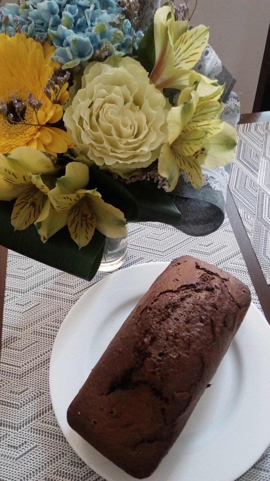 Hokus pokus v kuchyni - Cuketovo-čokoládový chlebíček