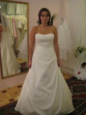 2.zkouška šatů, salón Evanie