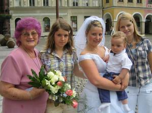 Babička s vnoučaty :-)