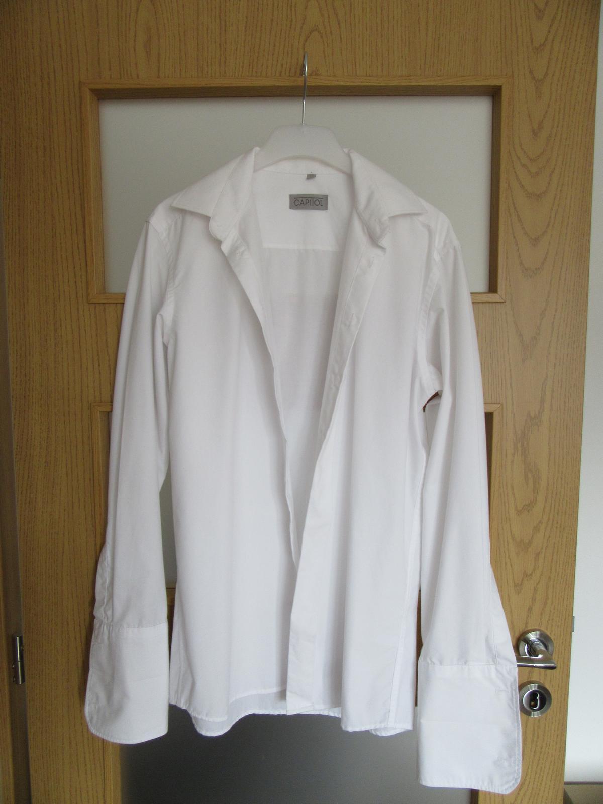 Košeľa na manžety - Obrázok č. 1