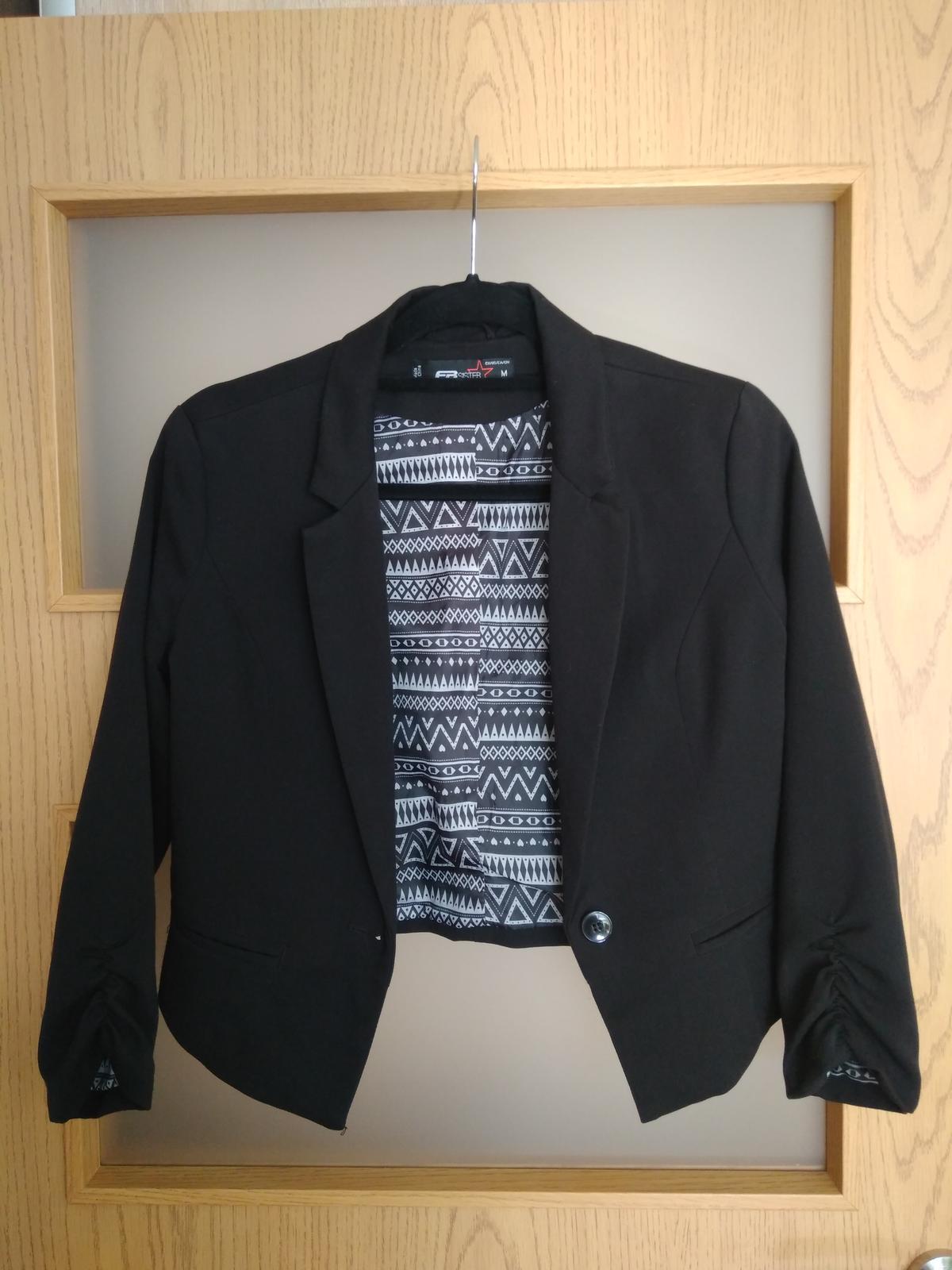 Dámsky kabátik, sačko - Obrázok č. 1