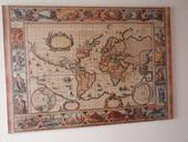 Puzzle Starodávná mapa světa,