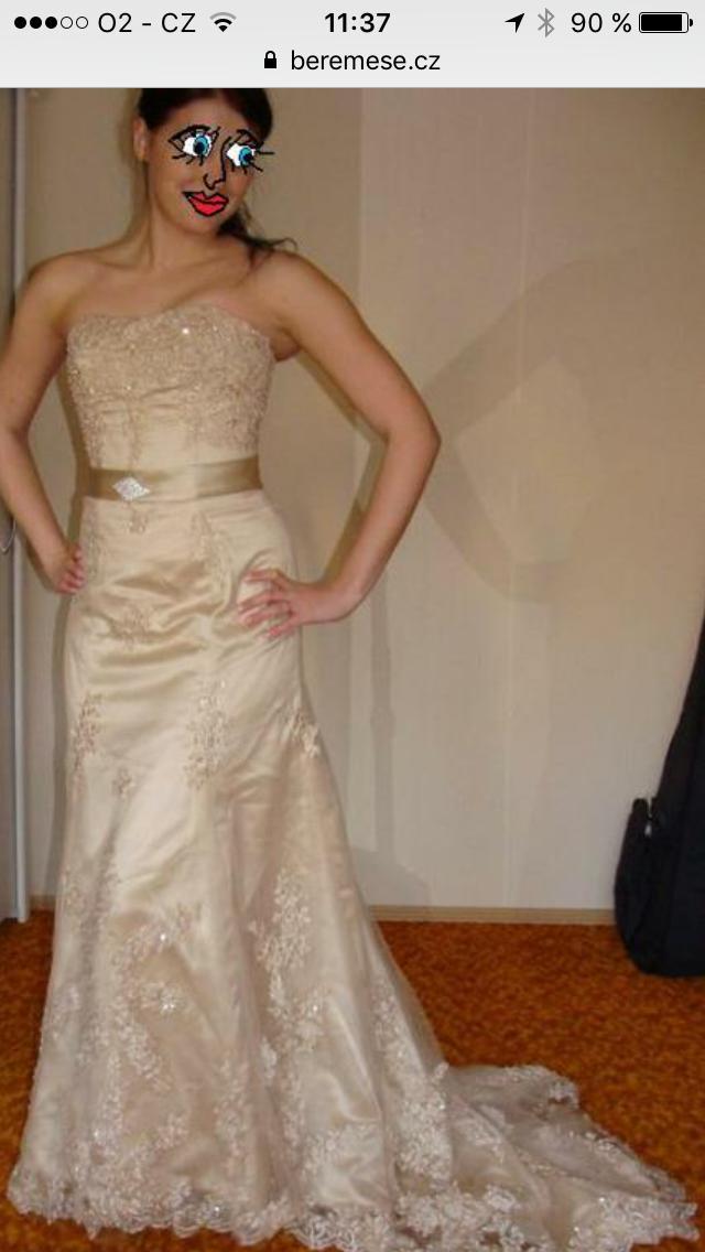 Netradiční svatební šaty - Obrázek č. 3
