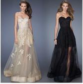 Svatební šaty - průsvitná sukně, 40