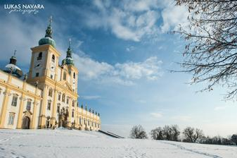 Svatý Kopeček u Olomouce - bazilika Navštívení Panny Marie