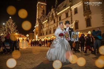 Na Horním náměstí v Olomouci