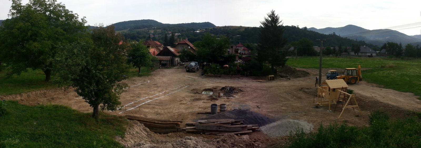 Pasívny dom svojpomocne - 25.07.2013