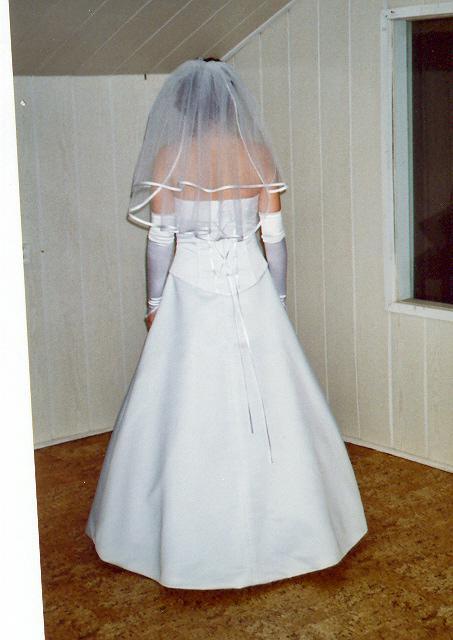 Odskúšané šaty a všetko doposiaľ - šaty BB - zo zadu