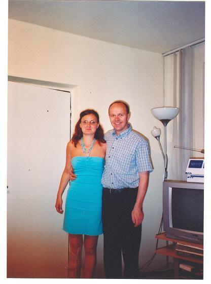 Svadba 27. augusta 2005 sa blíži! - Moje nové šaty z Čiech ... čo poviete?