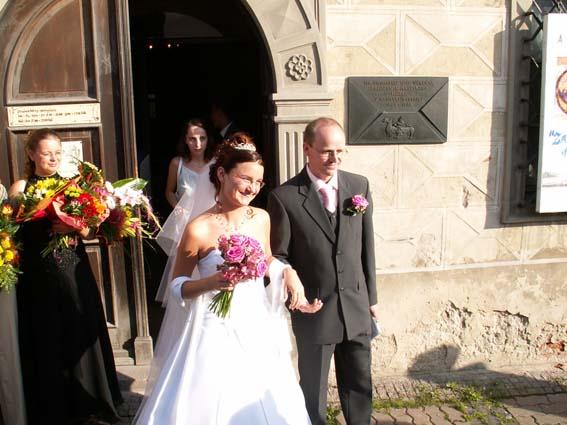 Marcela Václavková Konrádová{{_AND_}}Peter Václavek - už manželia