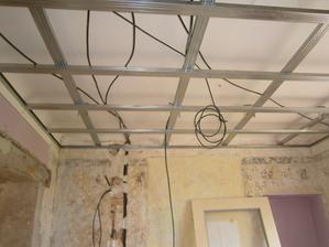 Kuk na strop ... tam se dějí věci :)