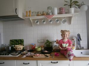 kuchyň v akci ;-)