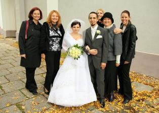 s kolegynkami a Martuškou(úplne vpravo)