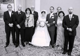 s rodičmi a bratmi