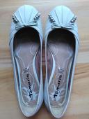 Tamaris biele balerinky 38, 38