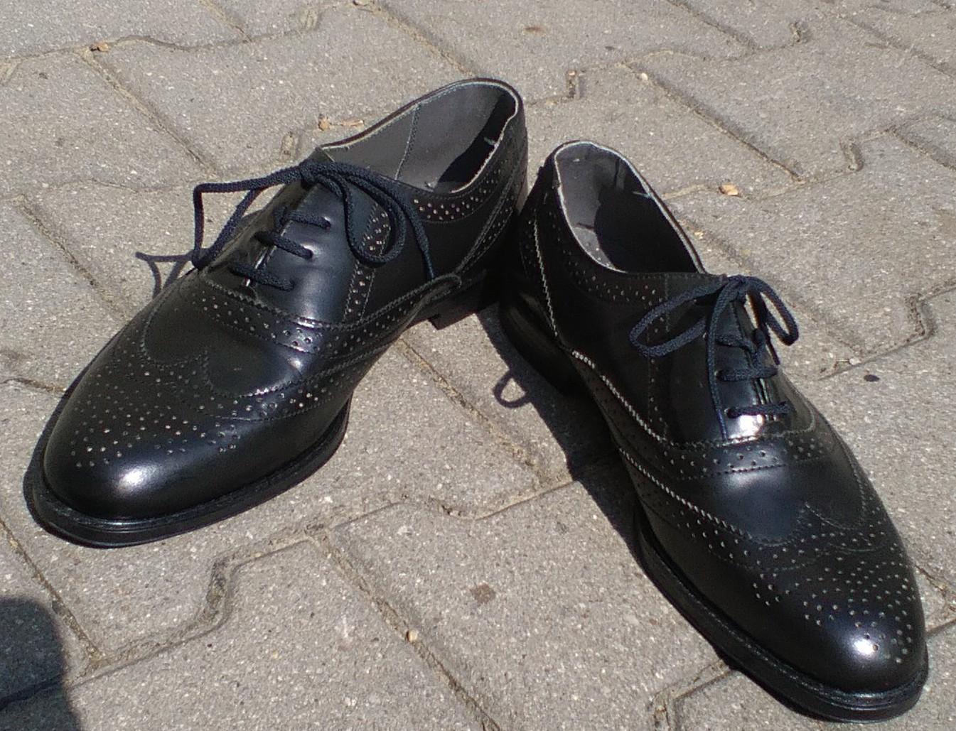 Pánske kožené topánky - Obrázok č. 1