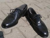 Pánske kožené topánky s poštou, 42