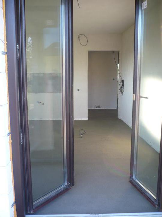 Stavba nášho domu - zaliata podlaha