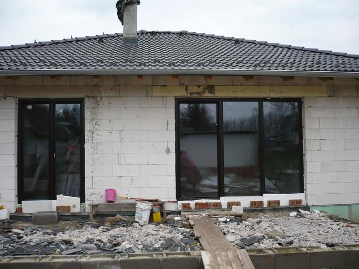 Stavba nášho domu - Dvere